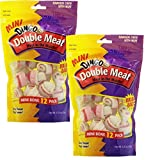 Dingo Mini Double Meat Bones, 12-Count(2Pack) Review