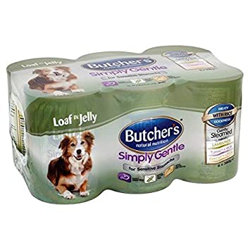 Butcher S Simply Gentle Loaf In Jelly Variety 6 X 400g Amazon Co Uk