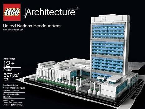 Amazon.com: LEGO Architecture 21018: United Nations ...