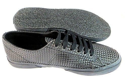Superga 2750 Rbrpyramidu Zapatillas, Unisex-Adulto TOTAL BLACK