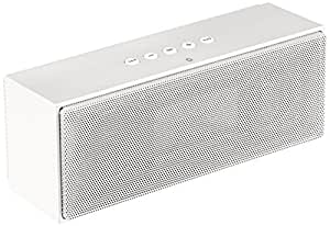 amazoncom amazonbasics wireless bluetooth dual  speaker  built  microphone white