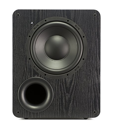 SVS PB-1000 300 Watt DSP Controlled 10'' Ported Subwoofer (Black Ash) by SVS