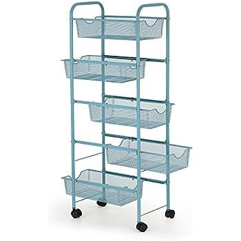 Amazon.com : NEX Storage Cart Organizer with Drawers ...