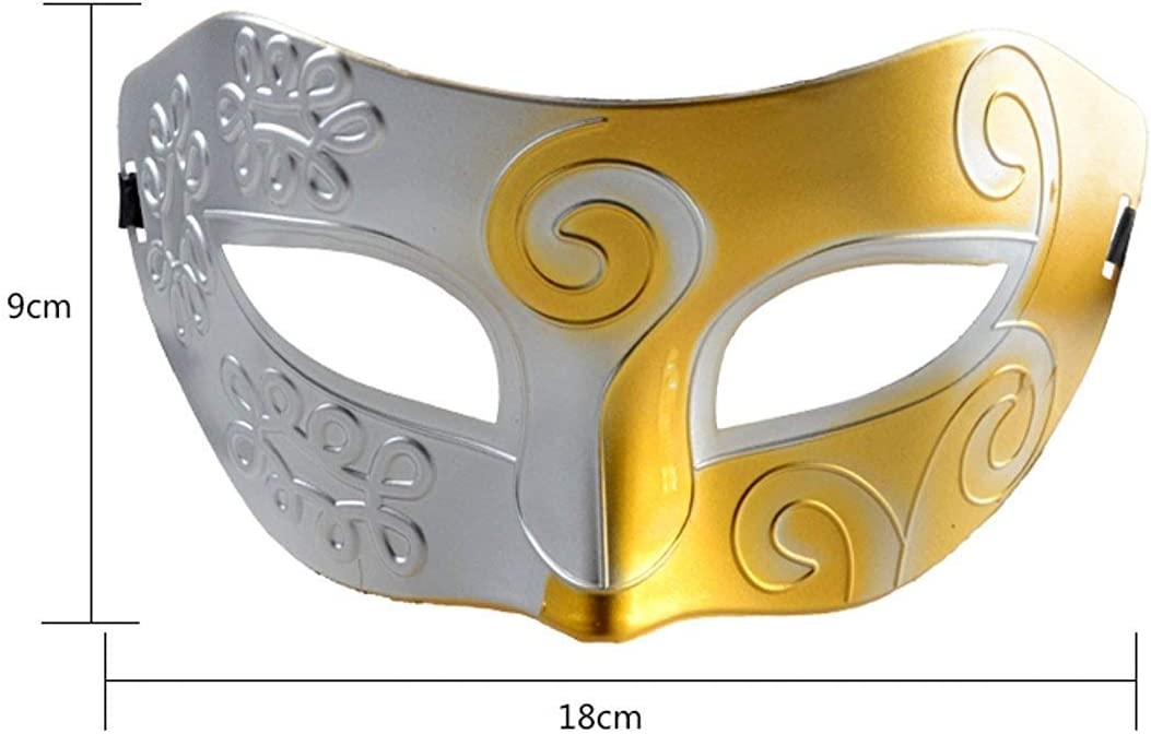 Pack de 16 NFACE Costume Mascarade Masque R/étro Masque Mascarade Party Acccessory