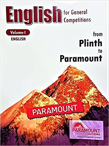 PARAMOUNT ENGLISH BOOK FOR SSC EBOOK DOWNLOAD (Online PDF )