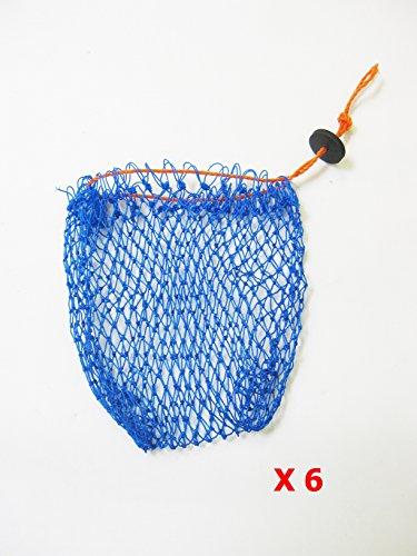 KUFA SPORTS Bait Combo Bag with Rubber Locker (6Piece) ()