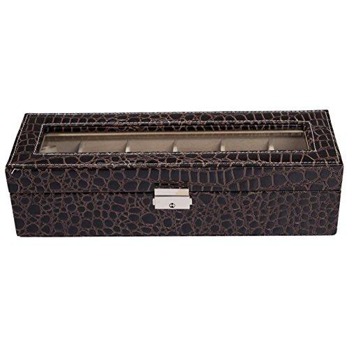 6 jewelry box/Luxury glass sunroof watch box/Storage Box/ Bangle Bracelet...