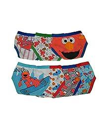 Sesame Street Elmo Toddler 7 Pack Boys Briefs - Sports