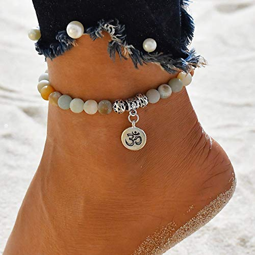 Peigen Clearance! Ankle Chain, Women's Summer Beach Sandal Barefoot Chains Foot Bracelet Ankle Chain ()