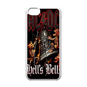 iPhone 5c Custom Cell Phone Case AC DC band Case Cover 10FF469153