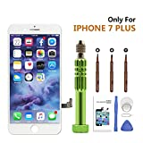 #1: iPhone 7 Plus Screen Replacement, LCD Display Digitizer 3D Touch Screen Frame Assembly Replacement Kits for iPhone 7 Plus Screen White (5.5 inch)