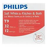 Philips 391227 Circline Fluorescent 32-Watt 12-Inch T9 Bright White Light Bulb