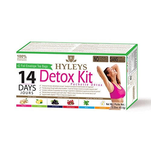 Hyleys 14-Day Detox Kit - 42 Tea Bags