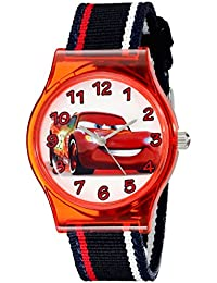 Kids' W001969 Cars Analog Black Watch
