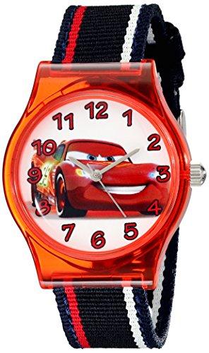 Disney Kids' W001969 Cars Analog Black Watch