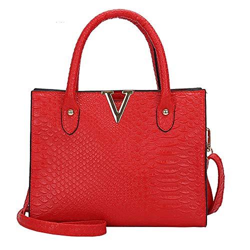 Sac À Sacs Red Chers Dames Main Limotai Mesdames Shopping Pu Handbag gwqA5B4