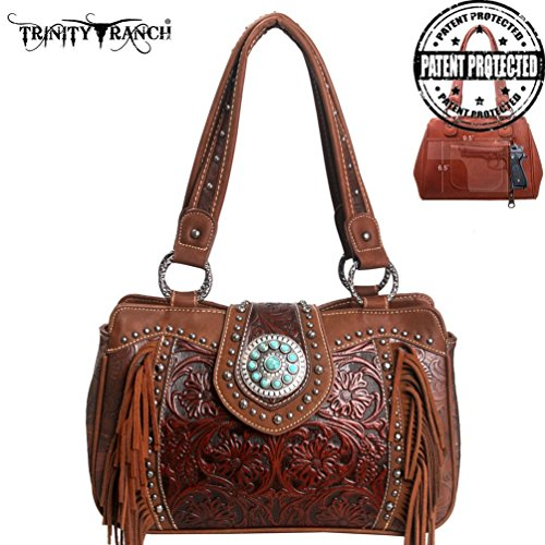 trinity-ranch-tooled-leather-satchel-w-fringe-wallet-brown