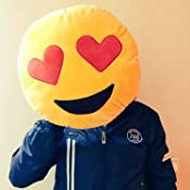 Emoji Emoticono Cojín Almohada Redonda Emoticon Smiley Peluche Bordado Sonriente