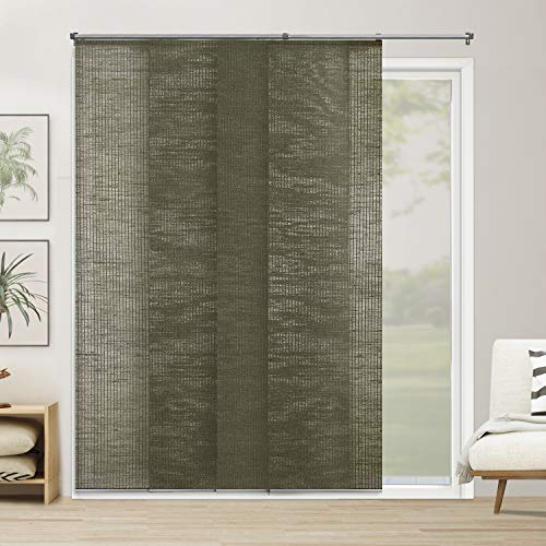 CHICOLOGY Adjustable Sliding Panels Cut to Length Vertical Blinds Up to 80