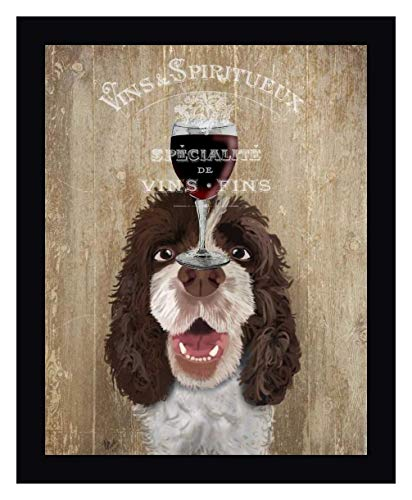 Dog Au Vin, Springer Spaniel by Fab Funky - 22