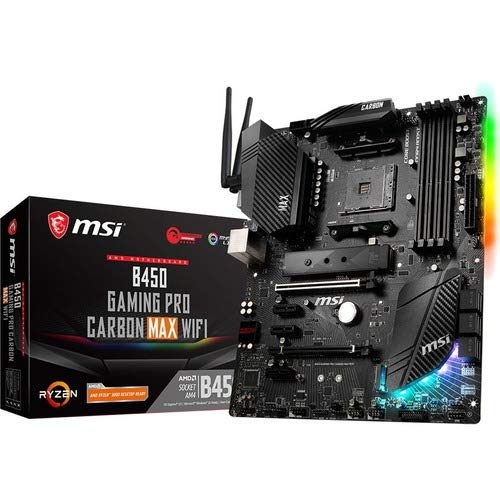 Motherboard MSI B450 GAMING PRO CARBON MAX WIFI Socket AM4