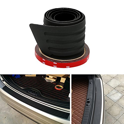 SalaBox-Accessories - Car Bumper Protector Rear Trunk Sill Plate Guard Anti-collision Auto Rubber Mouldings SUV Trim Cover Decoration Car-styling from SalaBox-Accessories