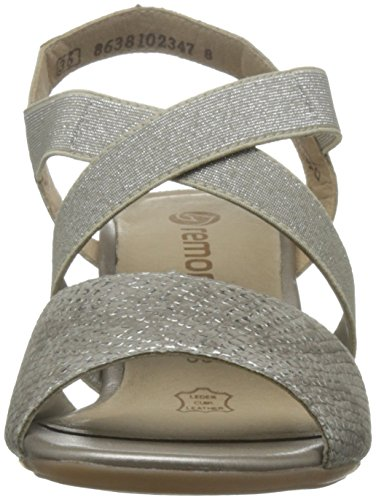 REMONTE Remonte Womens Sandal R9272 Silver 37