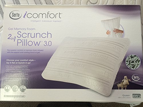Serta New iComfort Scrunch 3.0 w EF Triple Effects (Ki .