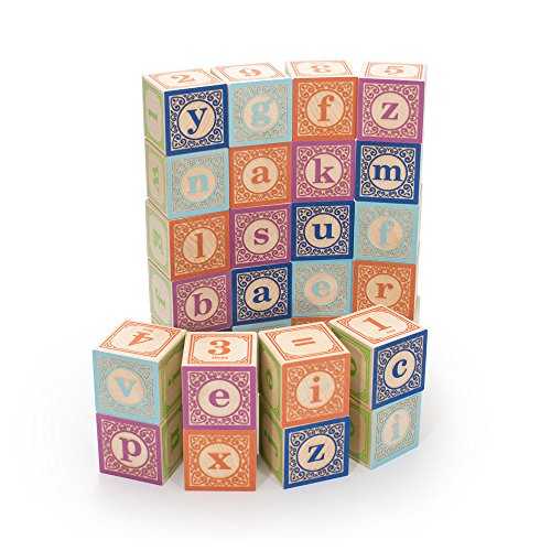 - Uncle Goose Classic Lowercase ABC Blocks - Made in USA
