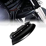 Black Lower Triple Tree Wind Deflector For Harley Touring Electra Street Glide 2014-2018 Models