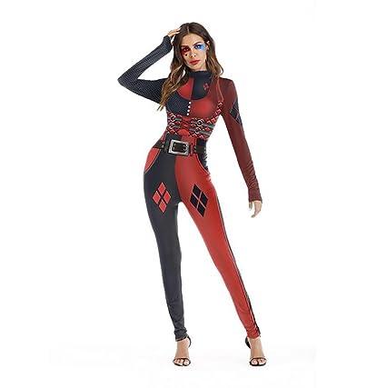 Amazon.com: SHANGXIAN Halloween Deadpool Costume Jumpsuits ...