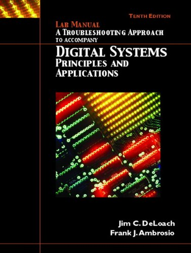 Lab Manual - Troubleshooting, Digital Systems