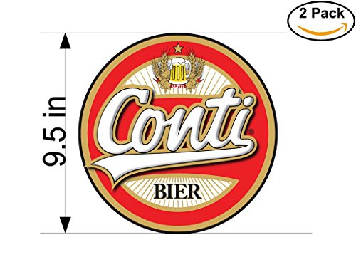 conti-beer-logo-alcohol-4-vinyl-stickers-decal-bumper-window-bar-wall-95-inches