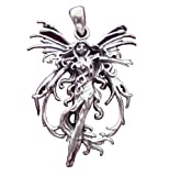 Sterling Silver Amy Brown Fire Fairy Faery Fairies Pendant Charm Jewelry