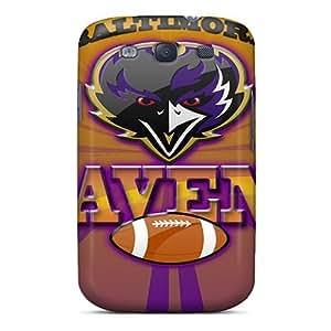 Cute High Quality Galaxy S3 Baltimore Ravens Case