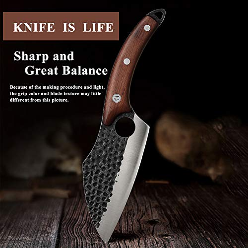 Boning-Knife-with-Leather-Sheath-Hand-Forged-Cleaver-Knife-Carbon-Steel-Meat-Butcher-Chef-Knife-Outdoor-Knives-for-Kitchen-BBQ-Camping-with-Gift-Box