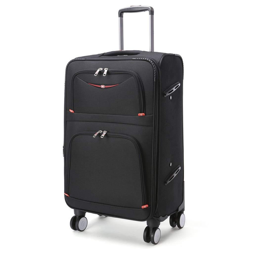 4スピナーホイール付きトロリーケースミュート防水オックスフォード荷物ビジネス20インチ搭乗スーツケース (サイズ さいず : 24 inches) 24 inches  B07MRCHBZ2