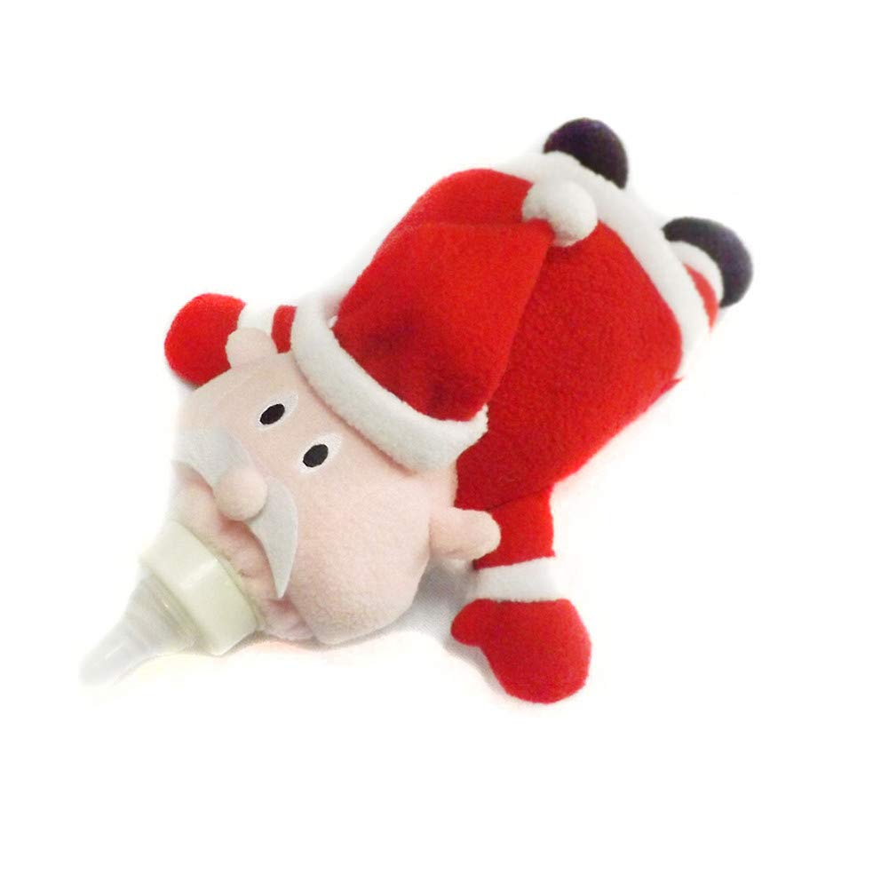 Klinkamz Baby Feeding Milk Bottle Insulation Cover Holder Feeder Thermal Bag Warmer Animal Plush Toy Duck