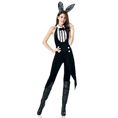 pop style sexy bunny halloween costume for women m