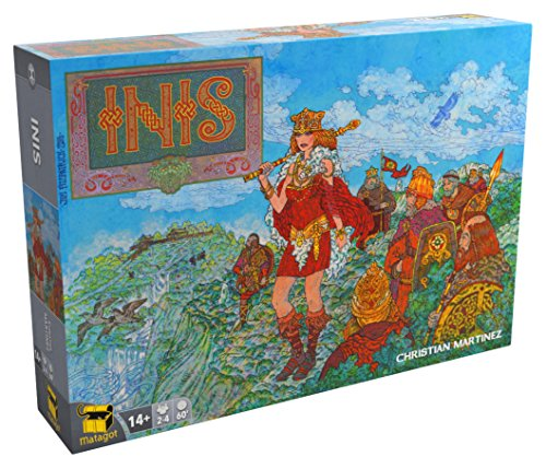 Inis Board Game Board Game  4 Players