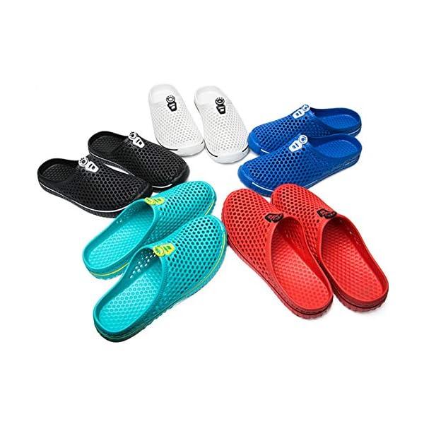 katliu Unisex Pantofole da All'Aperto Estate Leggere per Casa Mare Spiaggia, 35-45 2 spesavip