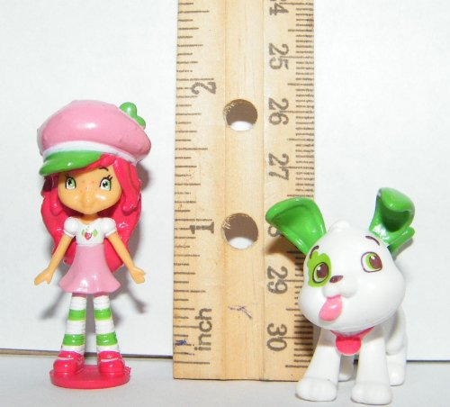 Strawberry Shortcake Deluxe Mini Figure Set Toy Playset