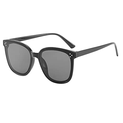 zarupeng✦‿✦ Gafas Retro Ligeras Retro de Gran tamaño para ...