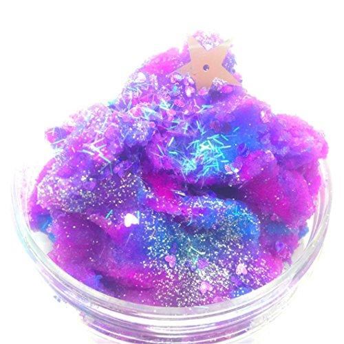 Beautiful Color Mixing Cloud Slime, E-SCENERY Fluffy Floam