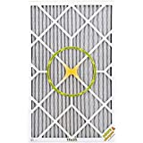 BestAir PF1625-1 Furnace Filter, 16 x 25 x 1, Carbon Infused Pet Filter, MERV 11, 6 pack