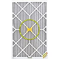 BestAir PF1625-1 Furnace Filter, 16 x 25 x 1, Carbon Infused Pet Filter, MERV 11, 6 pack