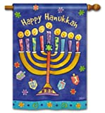 Happy Hanukkah House Flag Review
