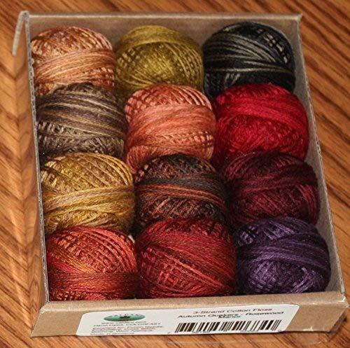 Valdani 3-strand cotton floss - Autumn Quakers - Rosewood Manor by Valdani
