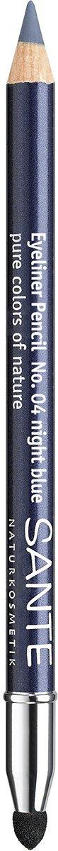 Sante Naturkosmetik, Matita eyeliner Kajal, N. 04 Night blue, 1,3 g 42043