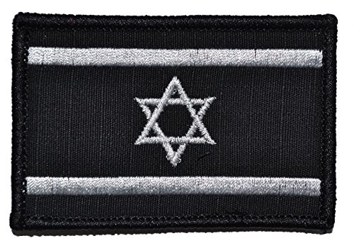 Flag of Israel, State of Israel Flag 2x3 Morale Patch - Mult